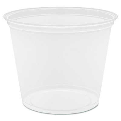 Dart Container Corp Dart Container Portion and Souffle Cups and Lids Clear 5.5 Oz Plastic