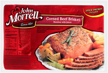 John Morrell® Corned Beef Brisket Package