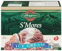 Haggen S'mores Ice Cream .5 Gal Carton