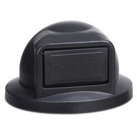 Anova Plastic Dome Top with Push Door Opening for 32 Gallon Receptacle Color: Black