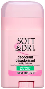 Soft & Dri® Free Breeze Deodorant Solid 1.2 oz Stick