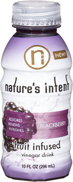 Nature's Intent® Blackberry Vinegar Drink 10 fl. oz. Bottle