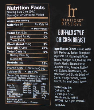 Hartford Reserve™ Buffalo Style Chicken Breast