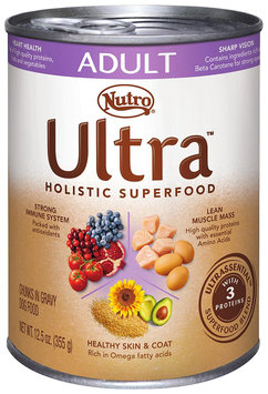 Nutro® Ultra™ Adult Chunks in Gravy Dog Food 12.5 oz. Can