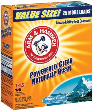 Arm & Hammer Powder Alpine Clean 145 Loads Laundry Detergent 14.4 Lb Box