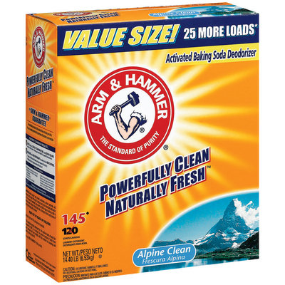 ARM & HAMMER™ Powder Alpine Clean 145 Loads Laundry Detergent
