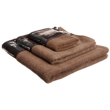Sweet Home Collection Elite Orb 3 Piece Towel Set