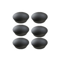 Ghent Rare Earth Magnets for Magnetic Whiteboards (Set of 6)