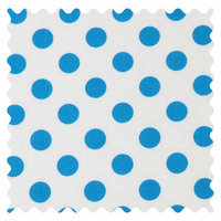 Stwd Polka Dots Fabric by the Yard Color: Turquoise
