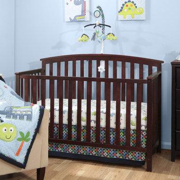 Baby Boom Banana Fish Little Dinos 3 Piece Crib Bedding Set