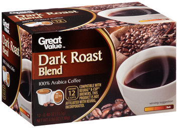 Great Value™ Dark Roast Blend Coffee