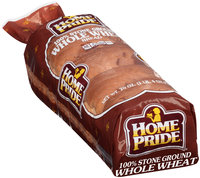 Home Pride® 100% Stone Ground Wheat Bread 20 oz. Loaf