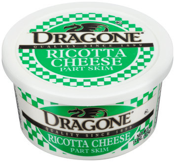 Dragone® Part Skim Ricotta Cheese 15 oz. Tup
