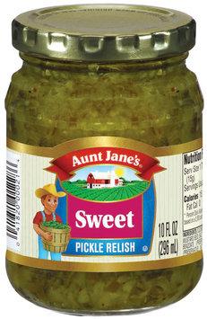 Aunt Jane's Sweet Pickle Relish 10 Oz Jar