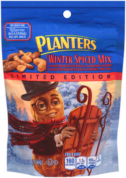 Planters Winter Spiced Mix 5.5 oz. Pouch