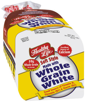 Healthy Life® Soft Style Made with Whole Grain White Bread