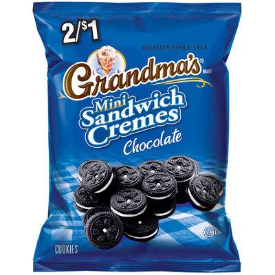 Grandma's® Chocolate Mini Sandwich Cremes Cookies