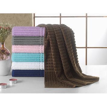 Berrnour Home Piano Bath Towel Color: Brown