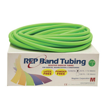 Rep Band Exercise Tubing Resistance: Level 3/Green
