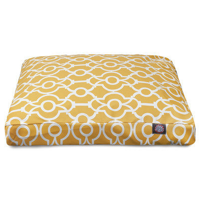 Majestic Pet Products, Inc. Athens Rectangle Pet Bed with Waterproof Denier Base Size: Small (27