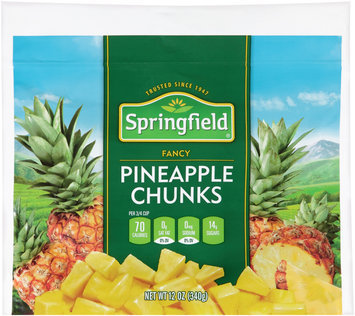 Springfield® Fancy Pineapple Chunks 12 oz. Bag