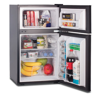 W Appliance Westinghouse Commercial Cool 3.2 cu. ft refrigerator/Freezer, Black