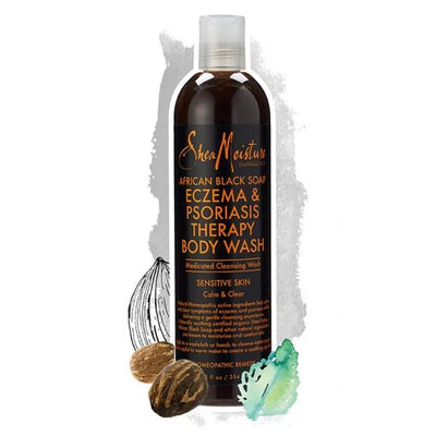 SheaMoisture® African Black Soap Eczema Psoriasis Therapy Body Wash