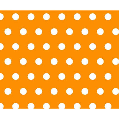 Stwd Polka Dots Portable Mini Fitted Crib Sheet Color: Gold