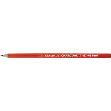 Alvin 557G-HB General Charcoal Pencil - Black