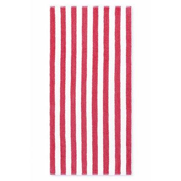 Crover Cabana Stripe Beach Towel Color: Fuchsia