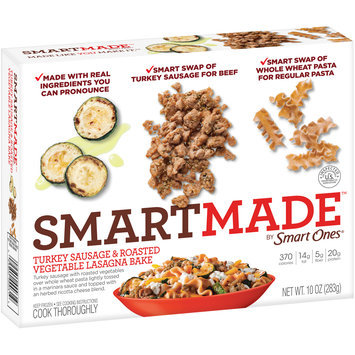SmartMade™ by Smart Ones® Turkey Sausage & Roasted Vegetable Lasagna Bake