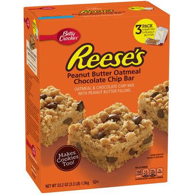 Betty Crocker™ REESE'S™ Peanut Butter Oatmeal Chocolate Chip Bar Mix