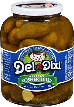Del Dixi® Fresh Pack Kosher Dills Pickles 46 fl. oz. Jar