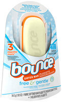 Bounce Free 3 Month Dryer Bar 1.92 oz. Clamshell