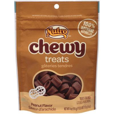 Nutro® Chewy Peanut Flavor Dog Treats 4 oz. Pouch