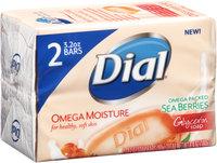 Dial® Omega Moisture Glycerin Soap 2 - 3.2 oz. Soap Pack