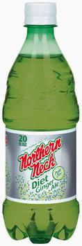 Northern Neck Diet Pale Dry Ginger Ale 20 oz Plastic Bottle