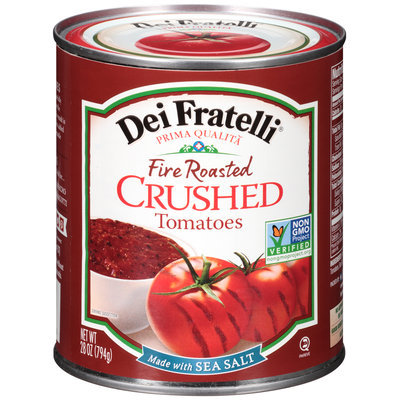Dei Fratelli® Fire Roasted Crushed Tomatoes 28 oz. Can