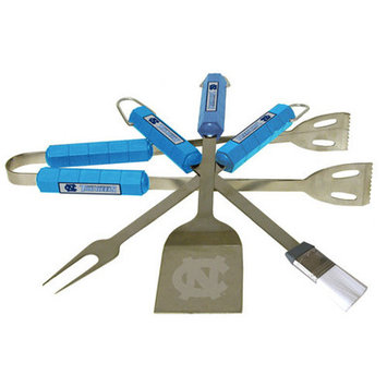 BSI Products North Carolina Tar Heels 4 Pc Bbq Set