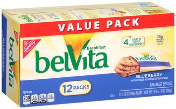Nabisco belVita Blueberry Breakfast Biscuits 12-1.76 oz. Packs