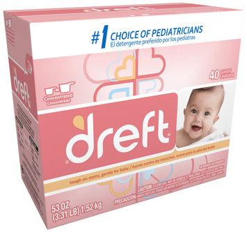 Dreft® Baby Original Scent Powder Laundry Detergent 53 oz. Box