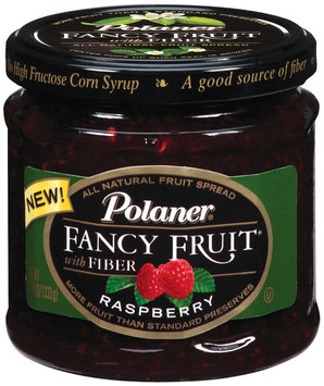 Polaner Preserves Raspberry  Fancy Fruit 12 Oz Jar