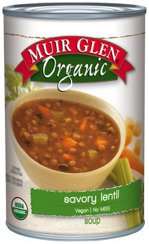 Muir Glen® Organic Savory Lentil Soup 14.8 oz. Can