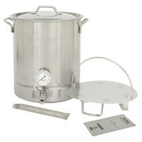 Barbour Int'l Bayou Classic Stainless Steel Brew Kettle