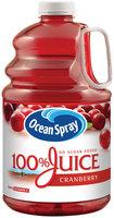 Ocean Spray® 100% Juice Cranberry 1 Gallon Jug