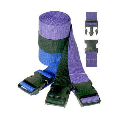 Yoga Direct Pinch Buckle Cotton Yoga Strap Size: 96
