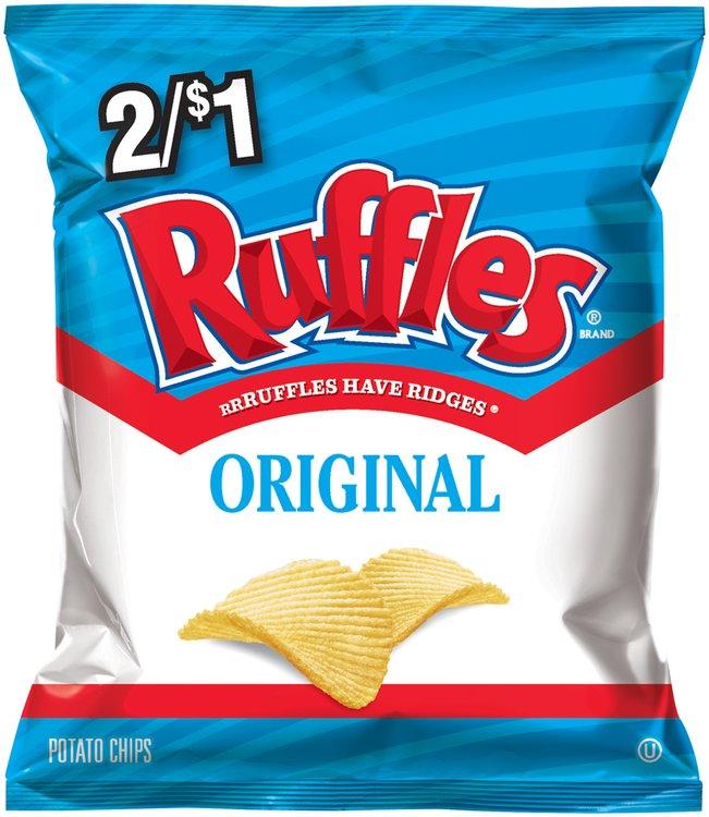 Ruffles® Brand Original Potato Chips 1.25 oz. Bag
