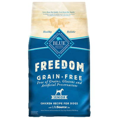 THE BLUE BUFFALO CO. BLUE™ Freedom® Grain-Free Chicken Recipe For Senior Dogs
