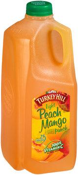 Turkey Hill® Light Peach Mango Punch 0.5 gal. Jug