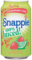 Snapple Strawberry Lime 100% Juiced